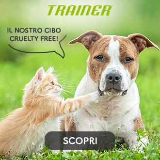 cibo per cani e gatti cruelty free by Trainer®